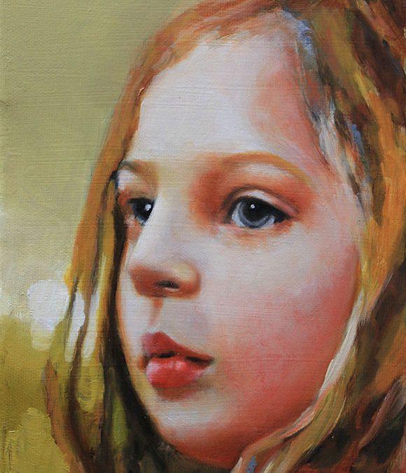 Portrait of Imogen