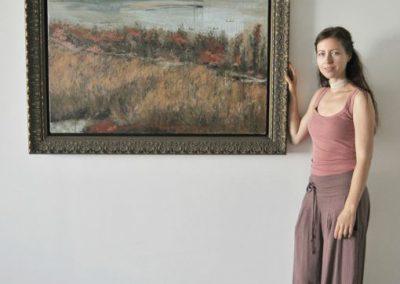 Paysage Rocheux, Kristalna palaca, painting