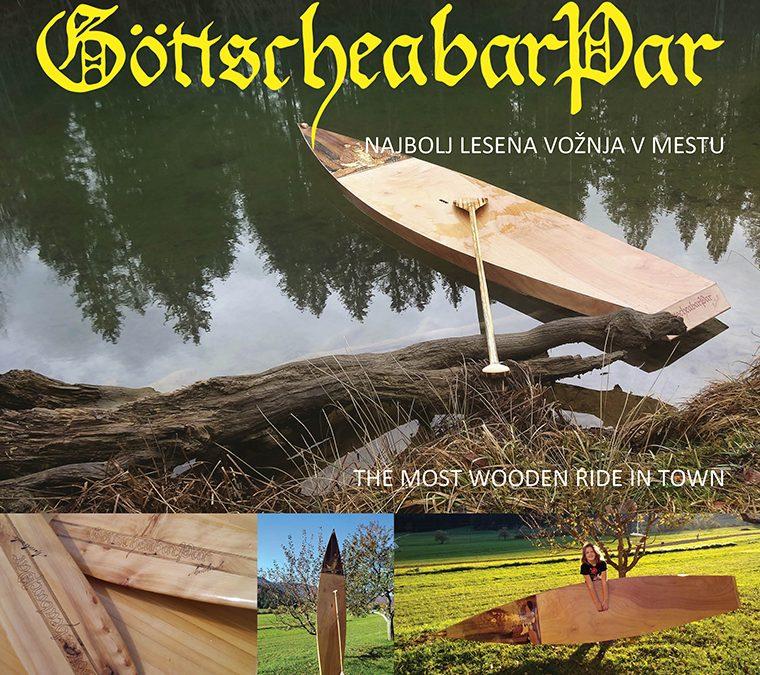 Najbolj lesena vožnja v mestu/ The most wooden ride in town