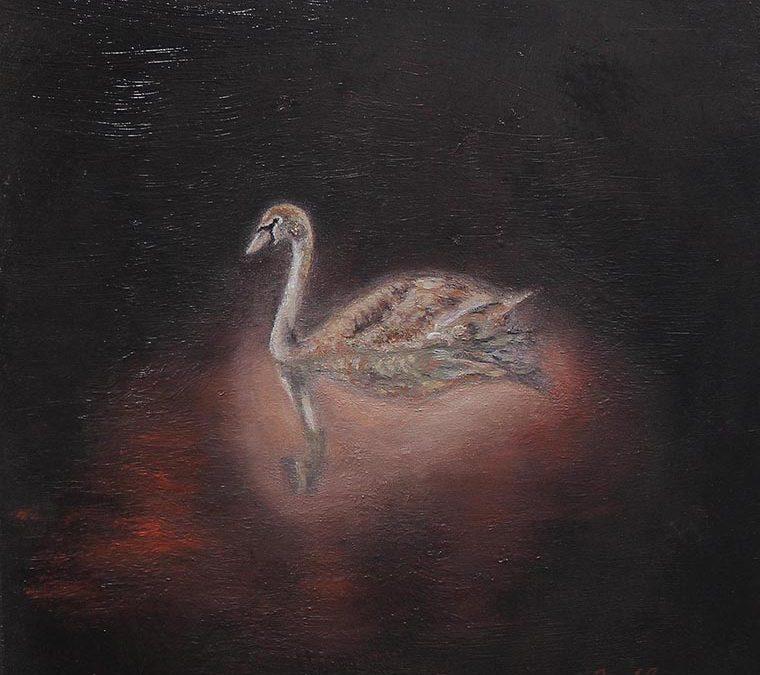 Tihožitje z račko/ Still Life with Duck