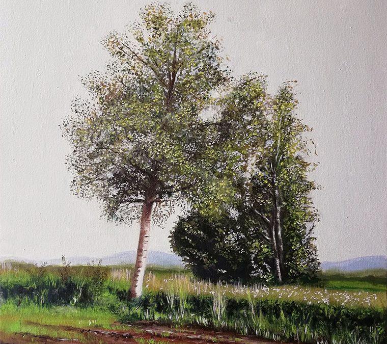 Breze v vetru / Birches in the Wind